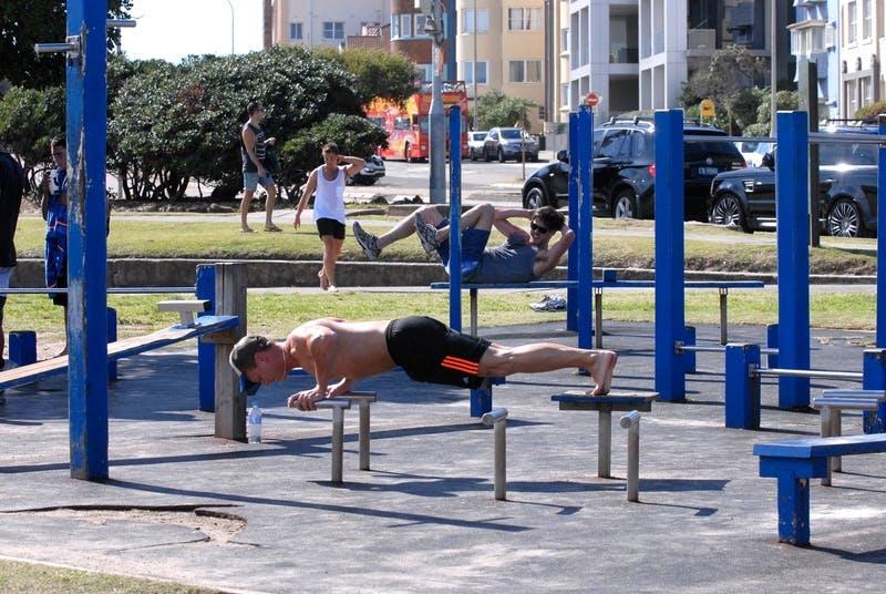 Bondi Park fitness station