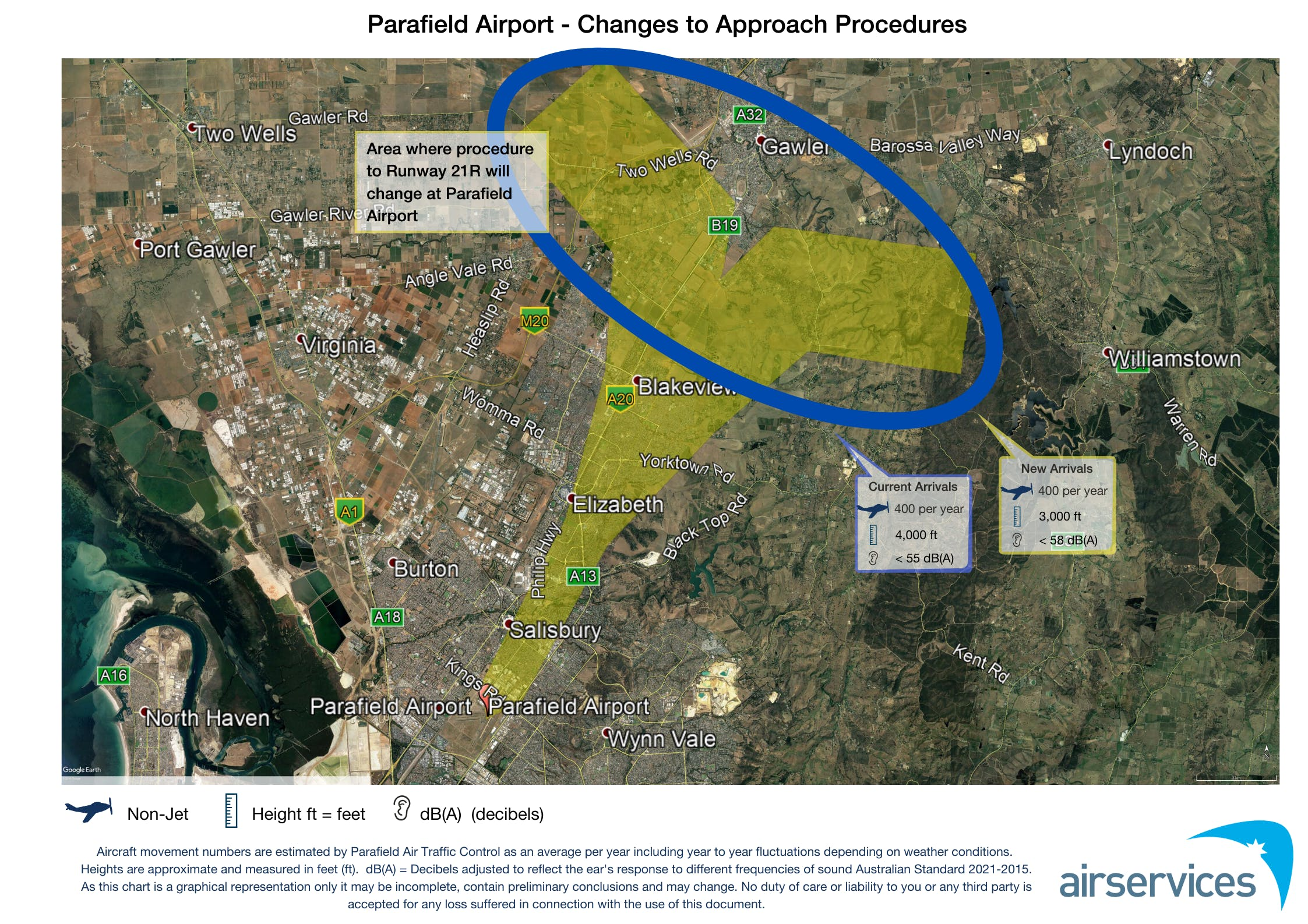 Parafield Airport Changes to Approach Procedures (May 2020)