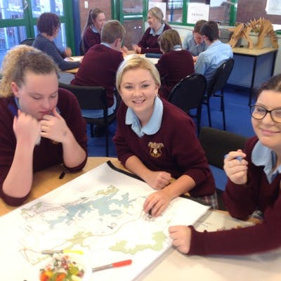 St Mary's High School students map their big ideas