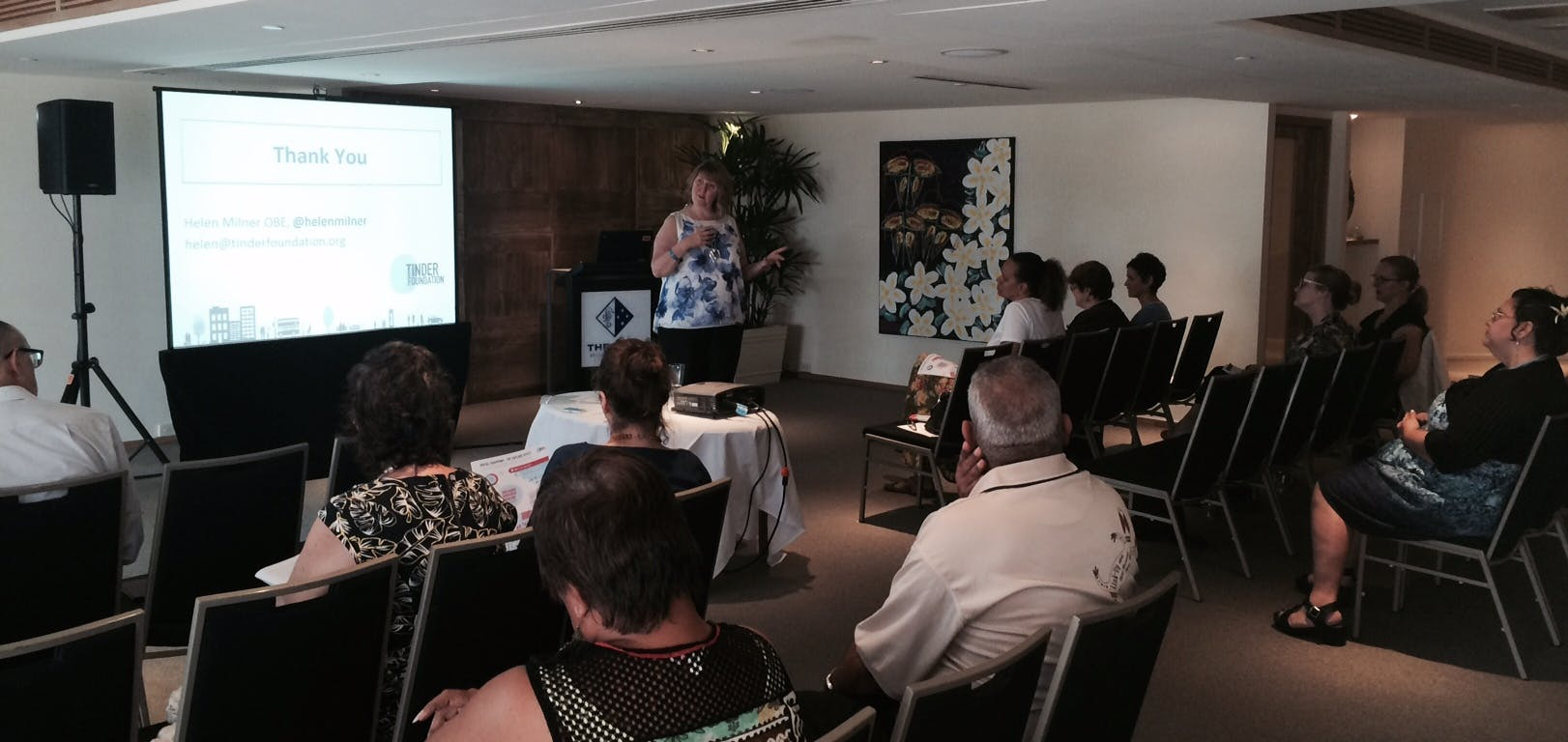 13 June 2016: International Digital Thought Leader - Helen Milner, touring in Cairns