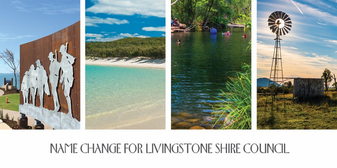 Name Change for Livingstone Shire Council