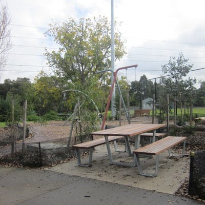 Robinson Capp Playspace picnic table