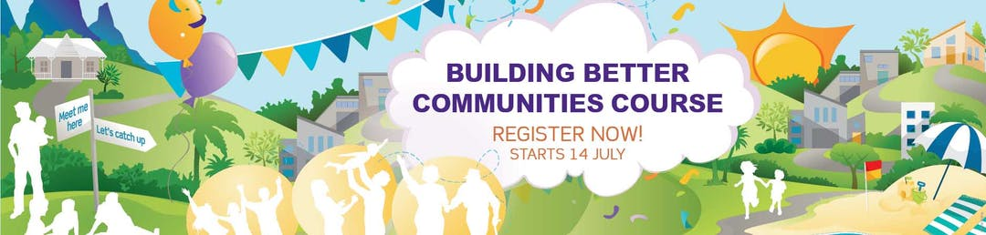 Have recent restrictions inspired new neighbourhood connections that you would like to continue?  Are you interested in how to nurture strong neighbourhoods?  Do you have an idea for your neighbourhood but not sure how to start it?  Then join in the FREE six week neighbourhood builders' course.
