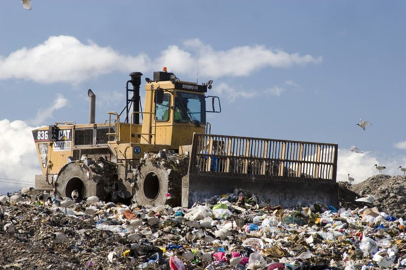 Sydney is running out of landfill space