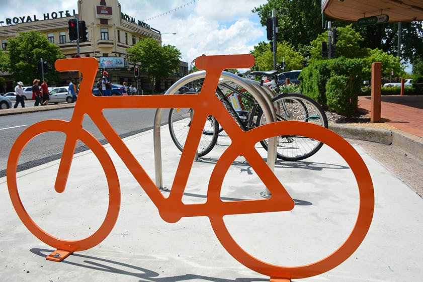 Orange Cycle Routes