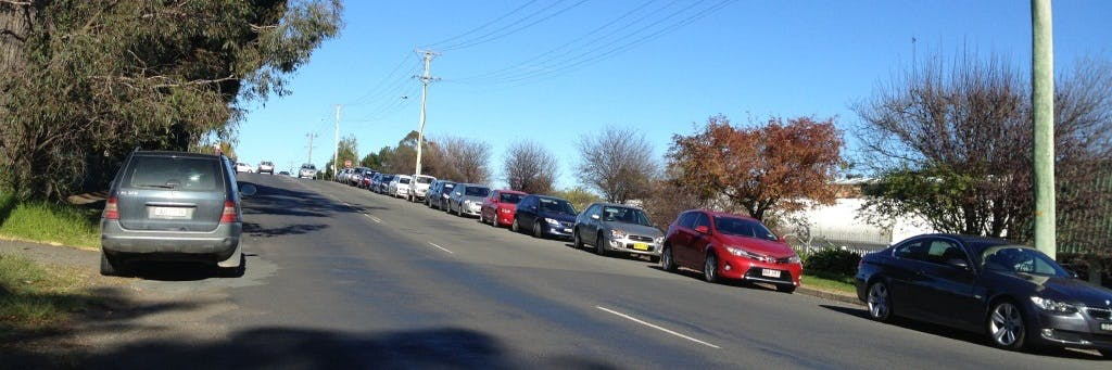 Parking on Kirkham Road (nth) near the Railway Stn
