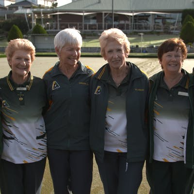 The Berwick Bowling Club received a Minor Capital Works Grant to improve their facility for members