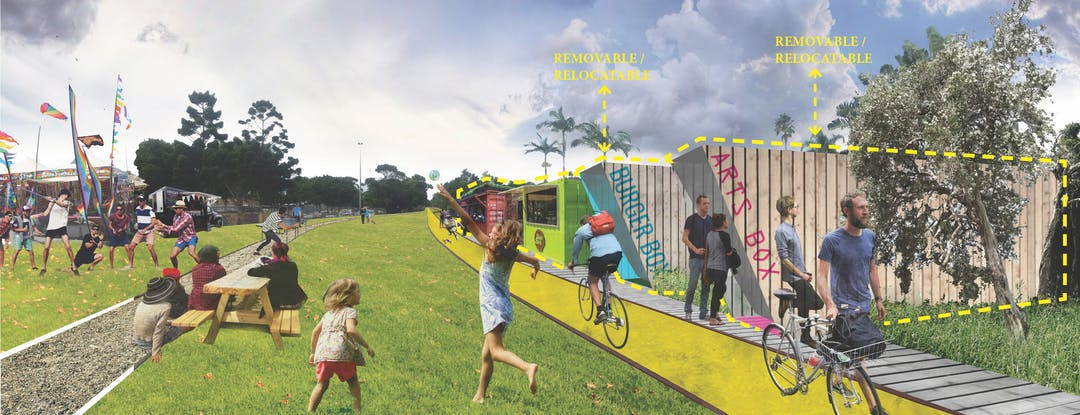 Rail corridor concept