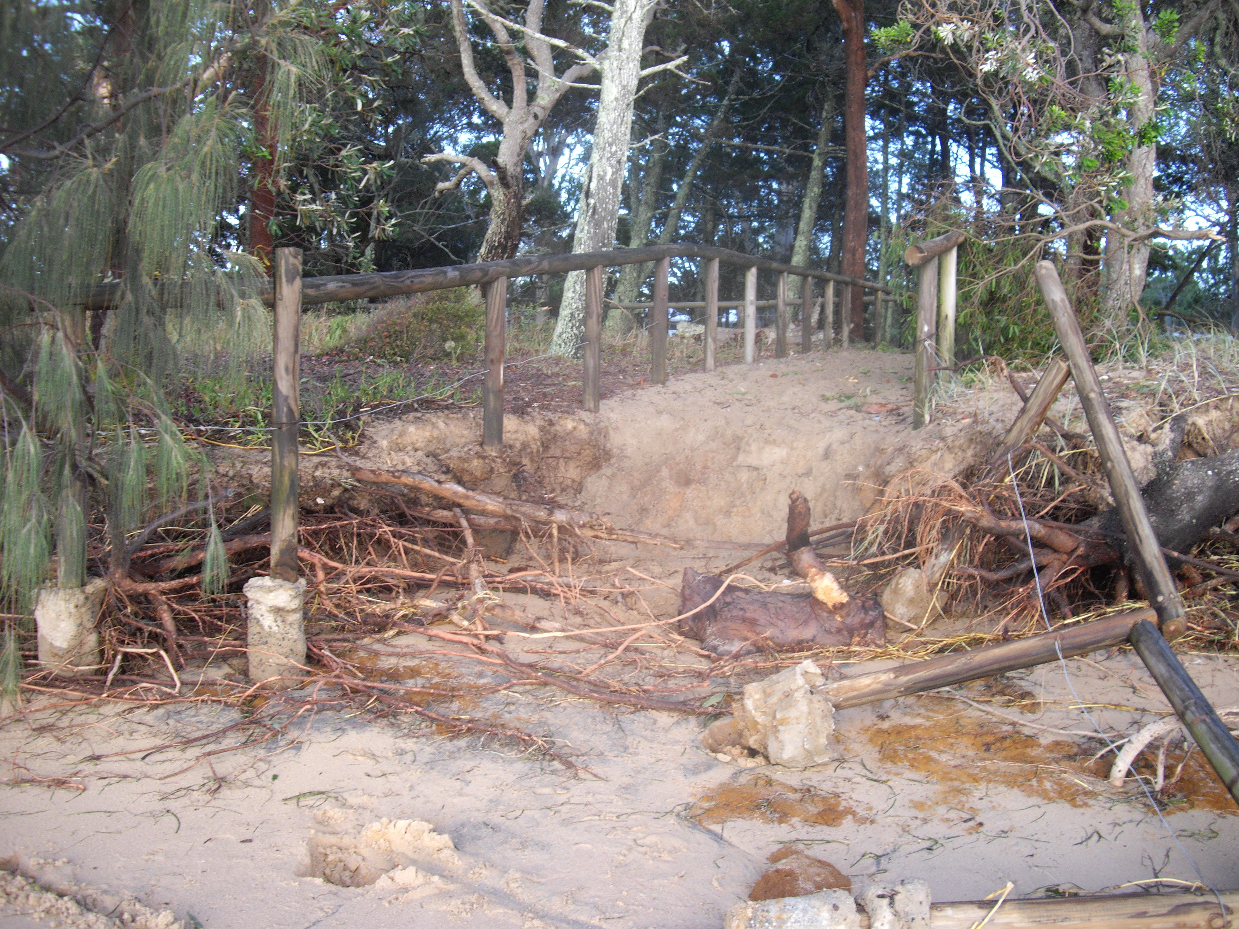 Coochiemudlo Island erosion