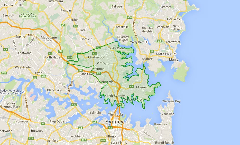 Merger Proposal for Mosman, North Sydney and Willoughby