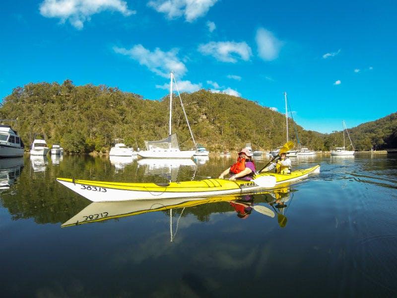Kayak activity. Photo: Glenn Hartley/OEH