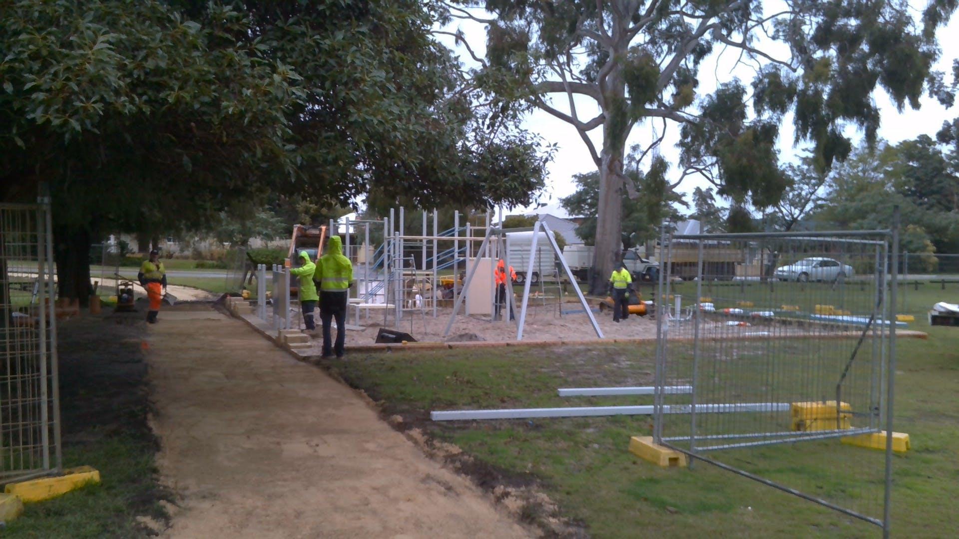 Andrews Park Progress 2