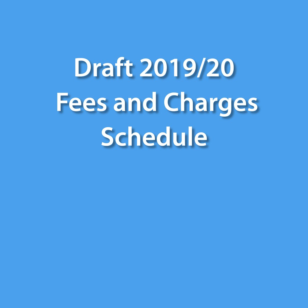 Ehq square   draftfees chargesshedule 2019
