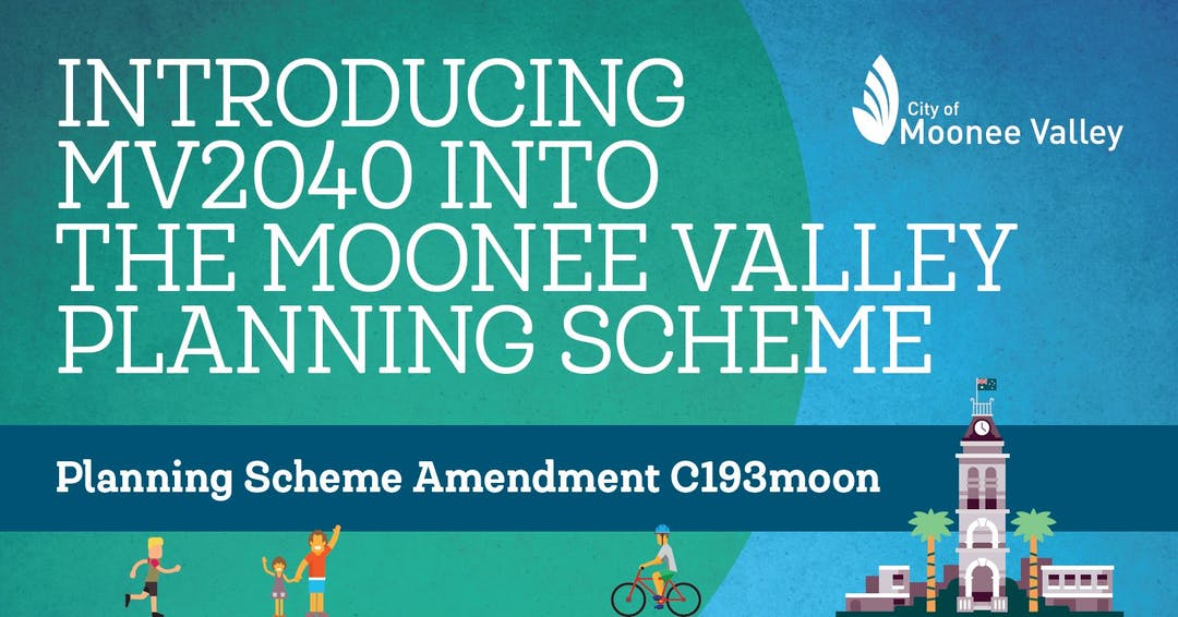 Amendment C193moon: Introducing MV2040 into the Moonee Valley Planning Scheme