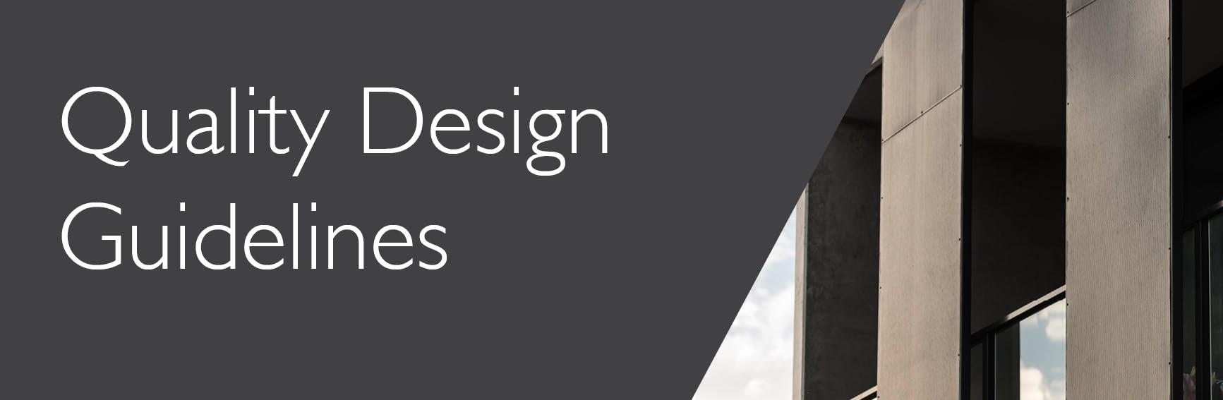 Quality design principles