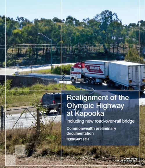 Olympic Highway At Kapooka