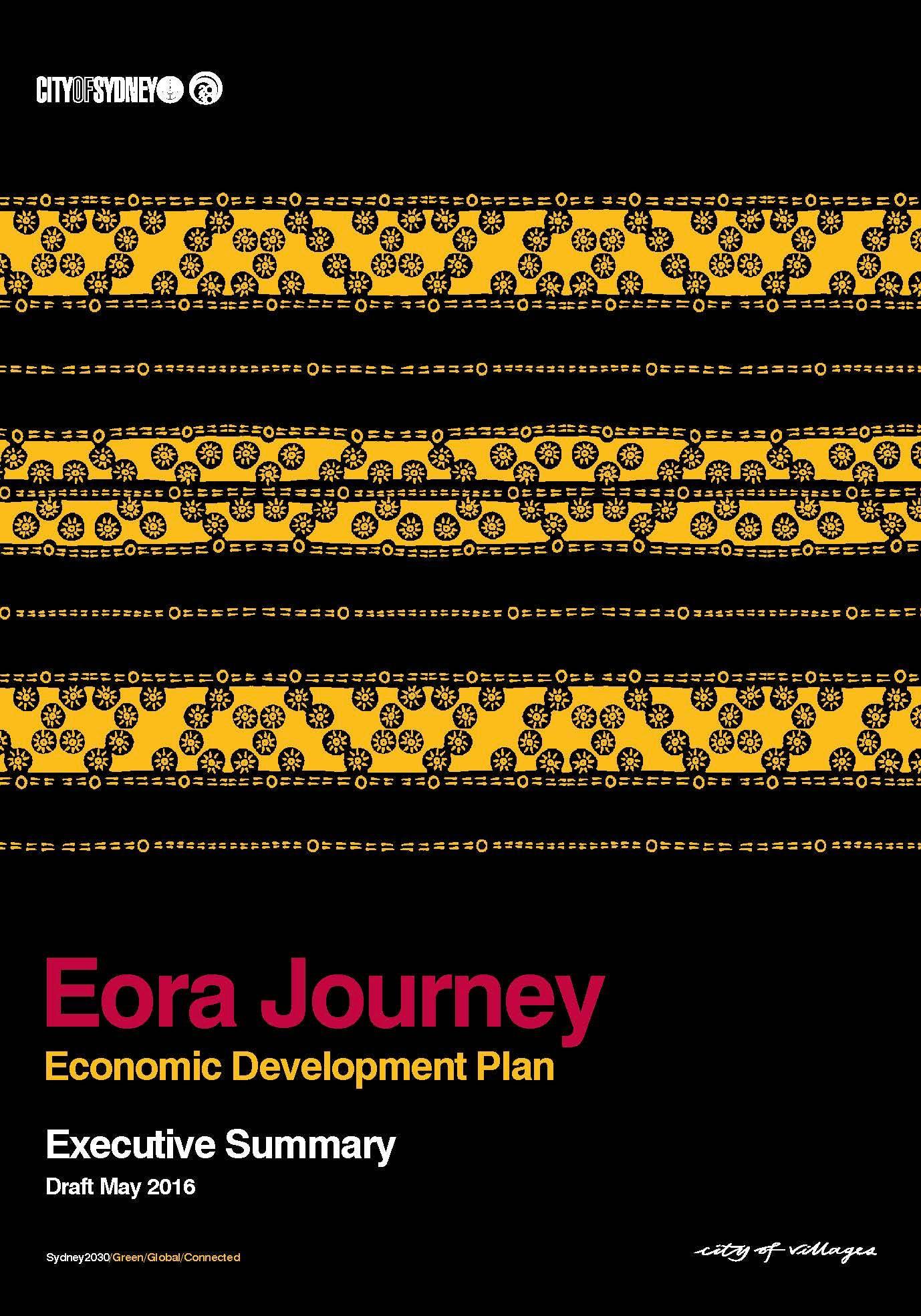 Eora Journey Economic Development Action Plan