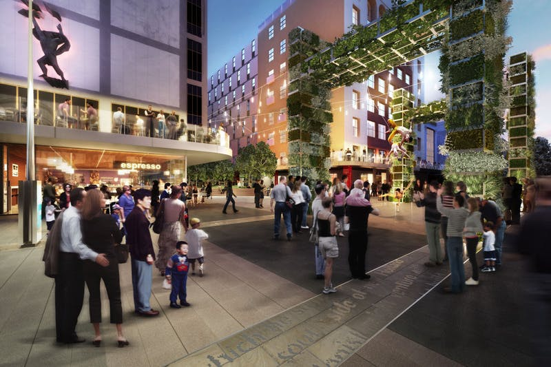 Draft Concept Image Only - Gawler Place