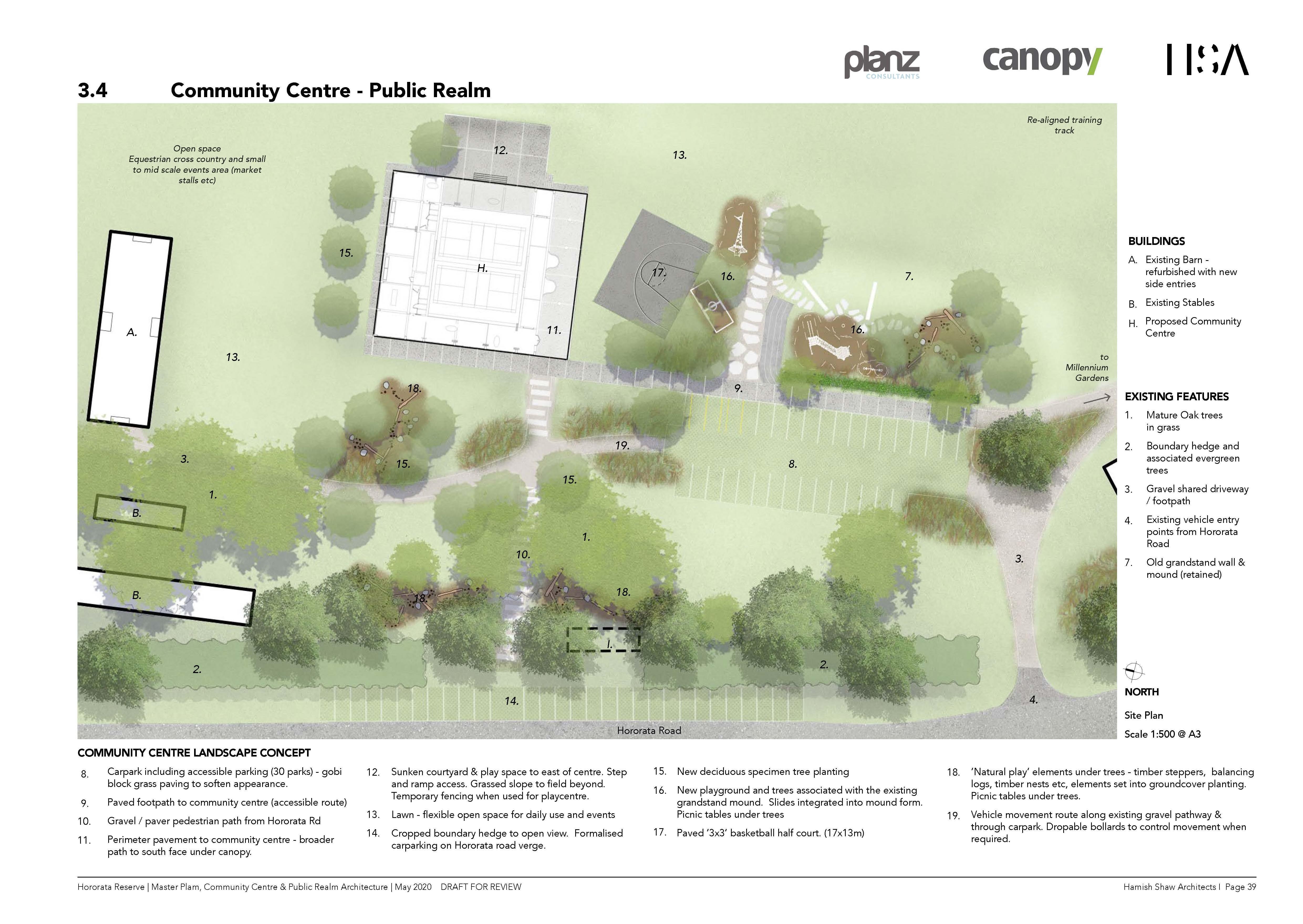 Community Centre - Public realm