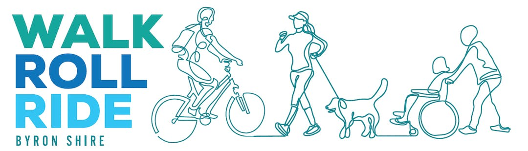 Campaign Image for  Byron Shire Council's work on cycleways and pedestrian networks.