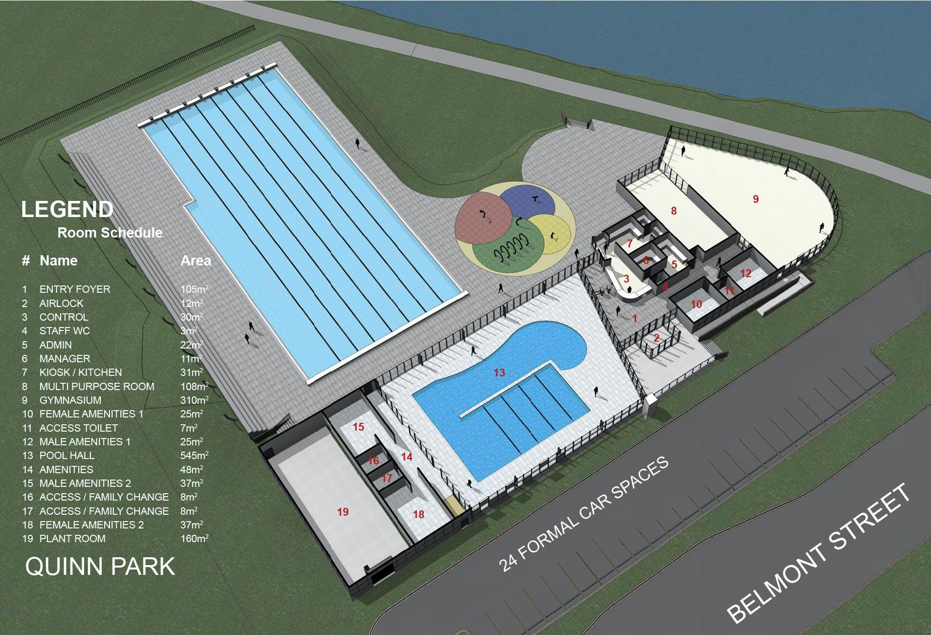 Home Plans Australia Floor Plan Swim Centres Lake Macquarie