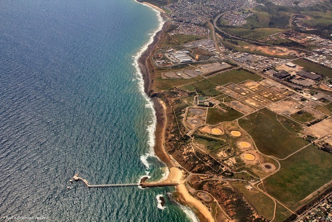 Lonsdale and Hallett Cove Aerial
