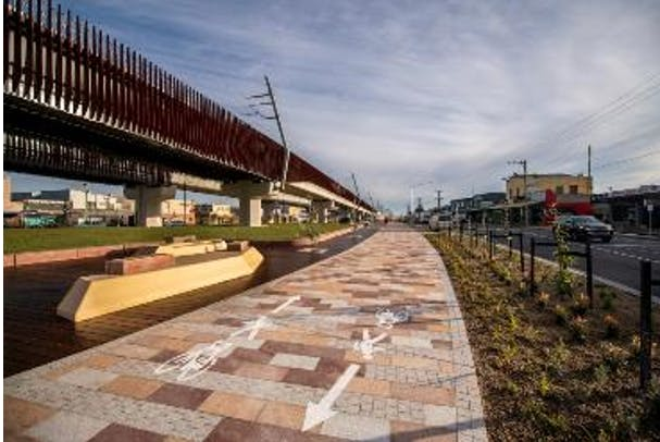 Mascot Avenue, Bonbeach shared pathway (Level Crossing Removal Project, 2020).PNG