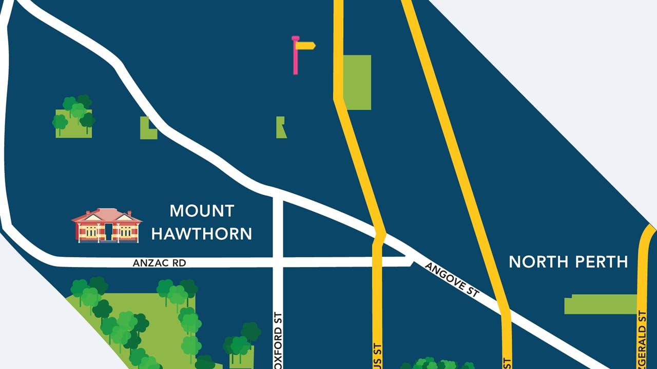 Pembroke Lane Proposed Location