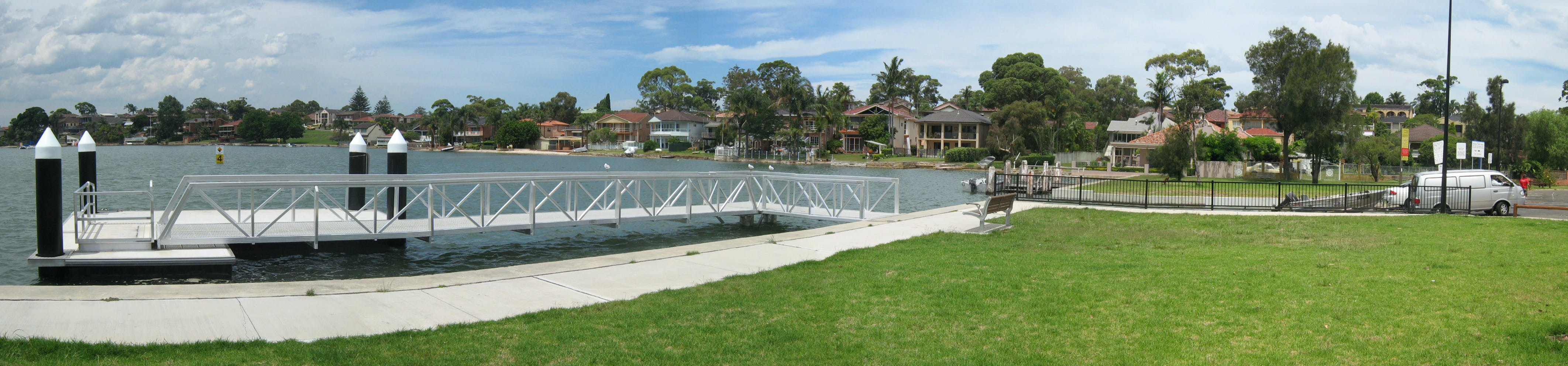 Hawkesbury Park Boat Ramp and Pontoon