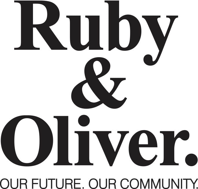 Ruby oliver logo stacked