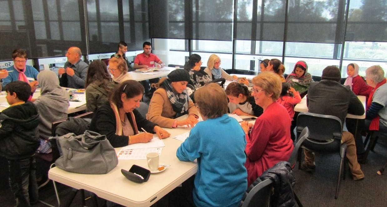 Wagga Wagga City Council's Language Cafe Program