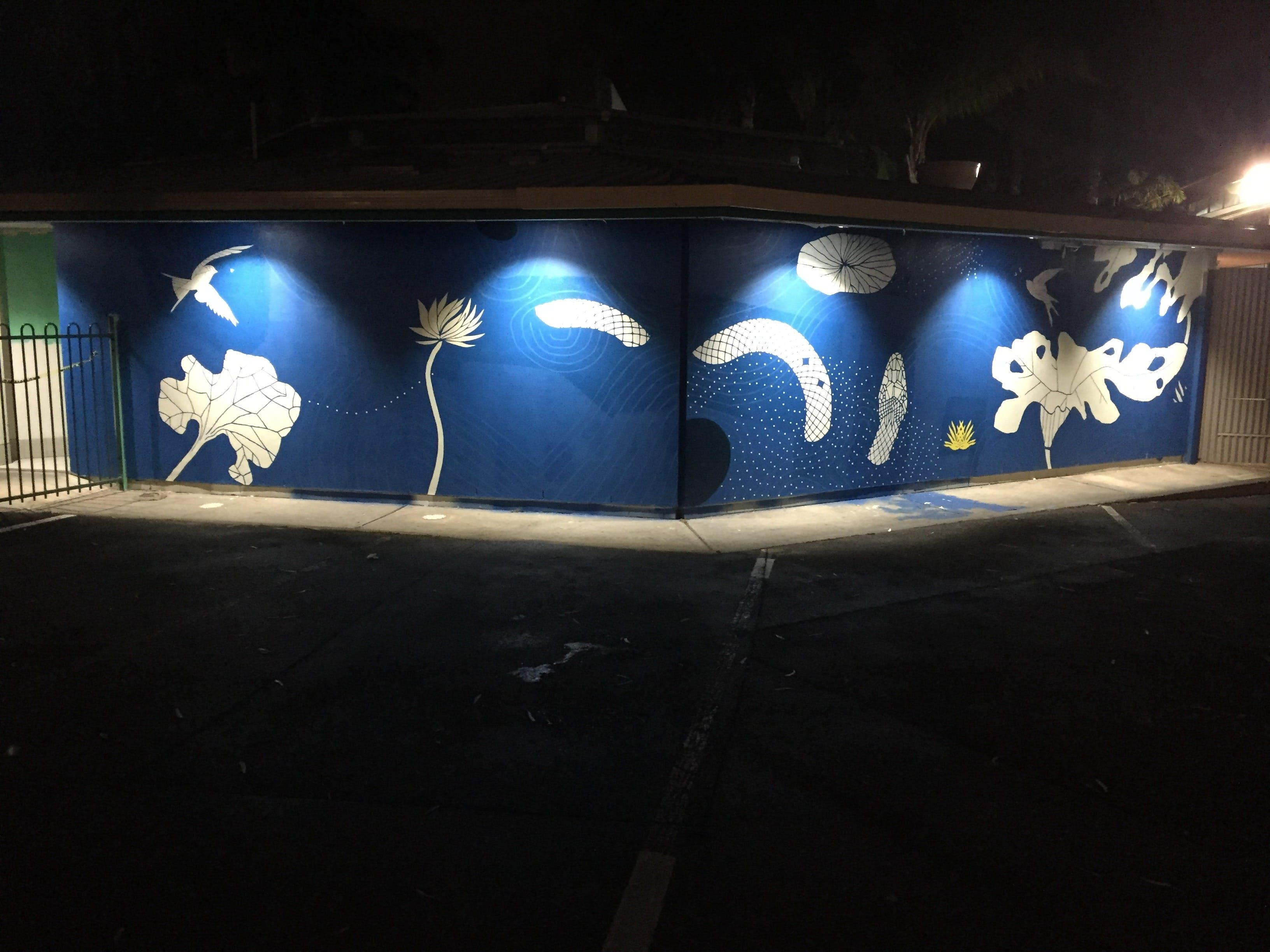 Aquatic Centre Mural (Jacob Logos)