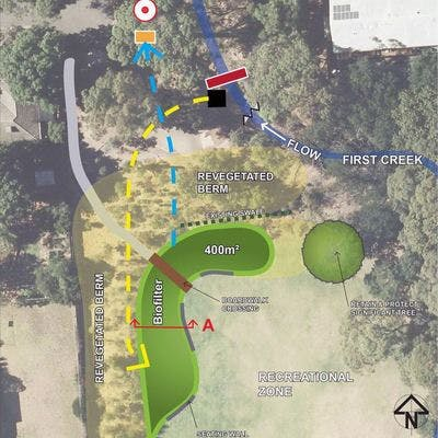 Biofilter proposed location