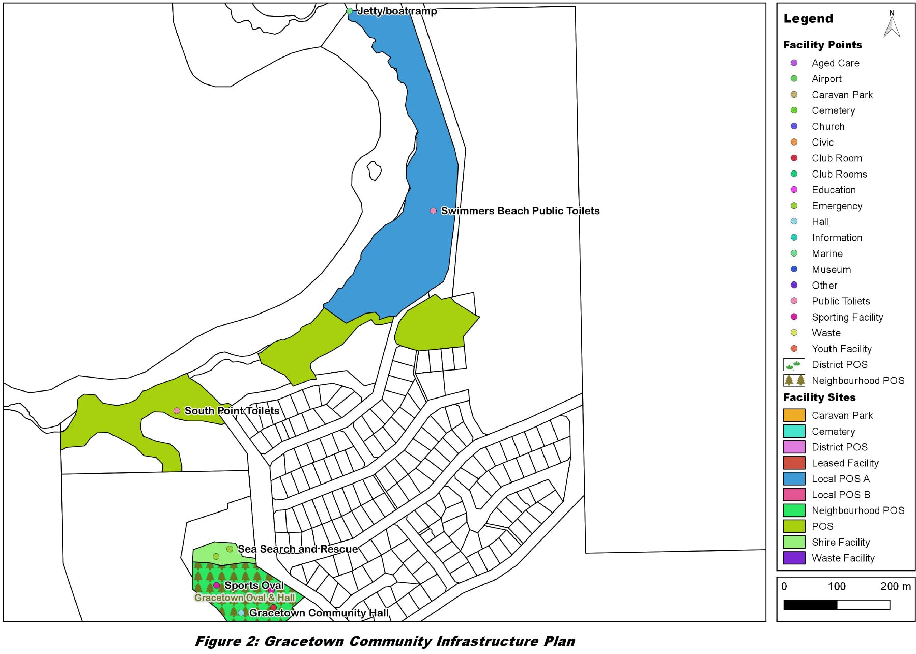 Gracetown Map