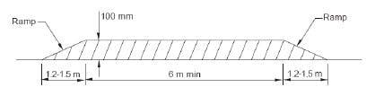 Flat Top Hump Design