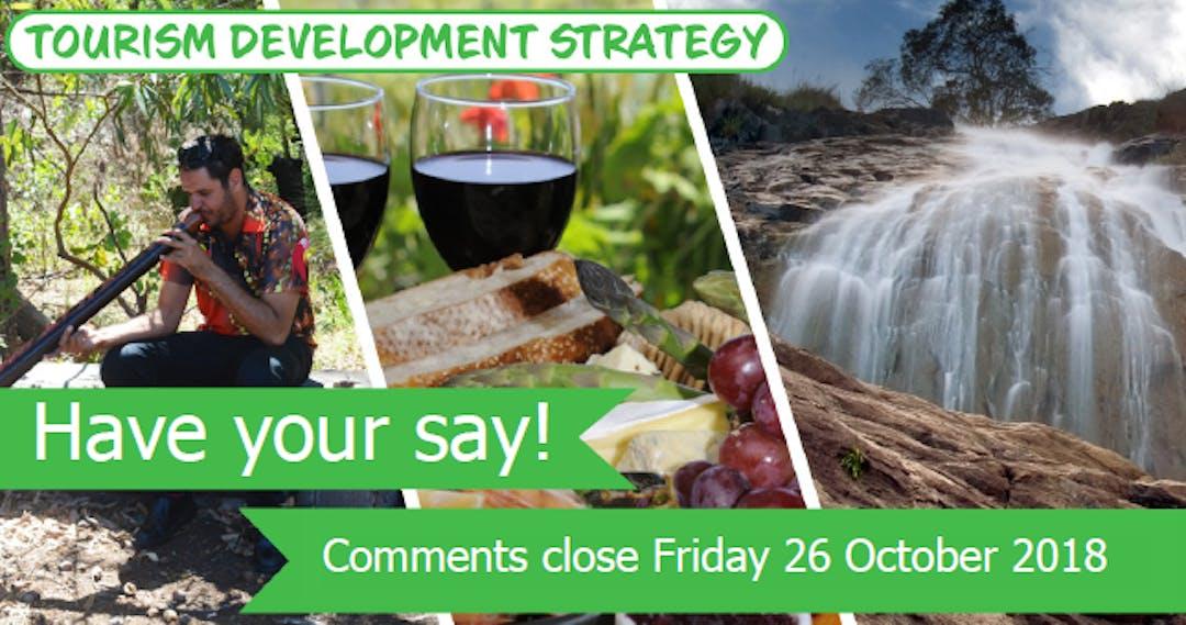 Tourism Strategy: Register for workshops