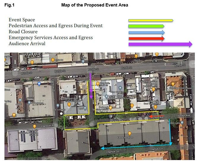 Proposed closure of Vardon Avenue.JPG