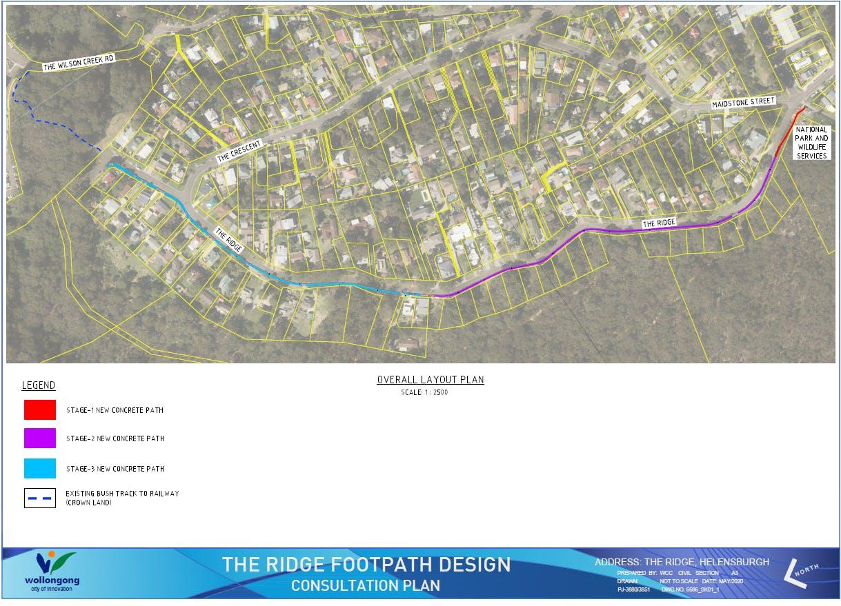 The Ridge Helensburgh  - Consultation Plan