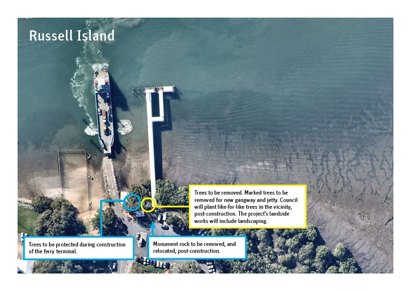 Russell Island - Removal/relocation plan