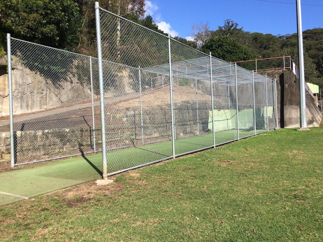 Current cricket nets at Primrose Park