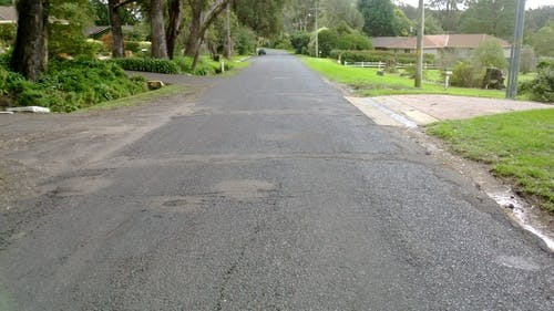 Bong Bong Road   View To Belmore Street