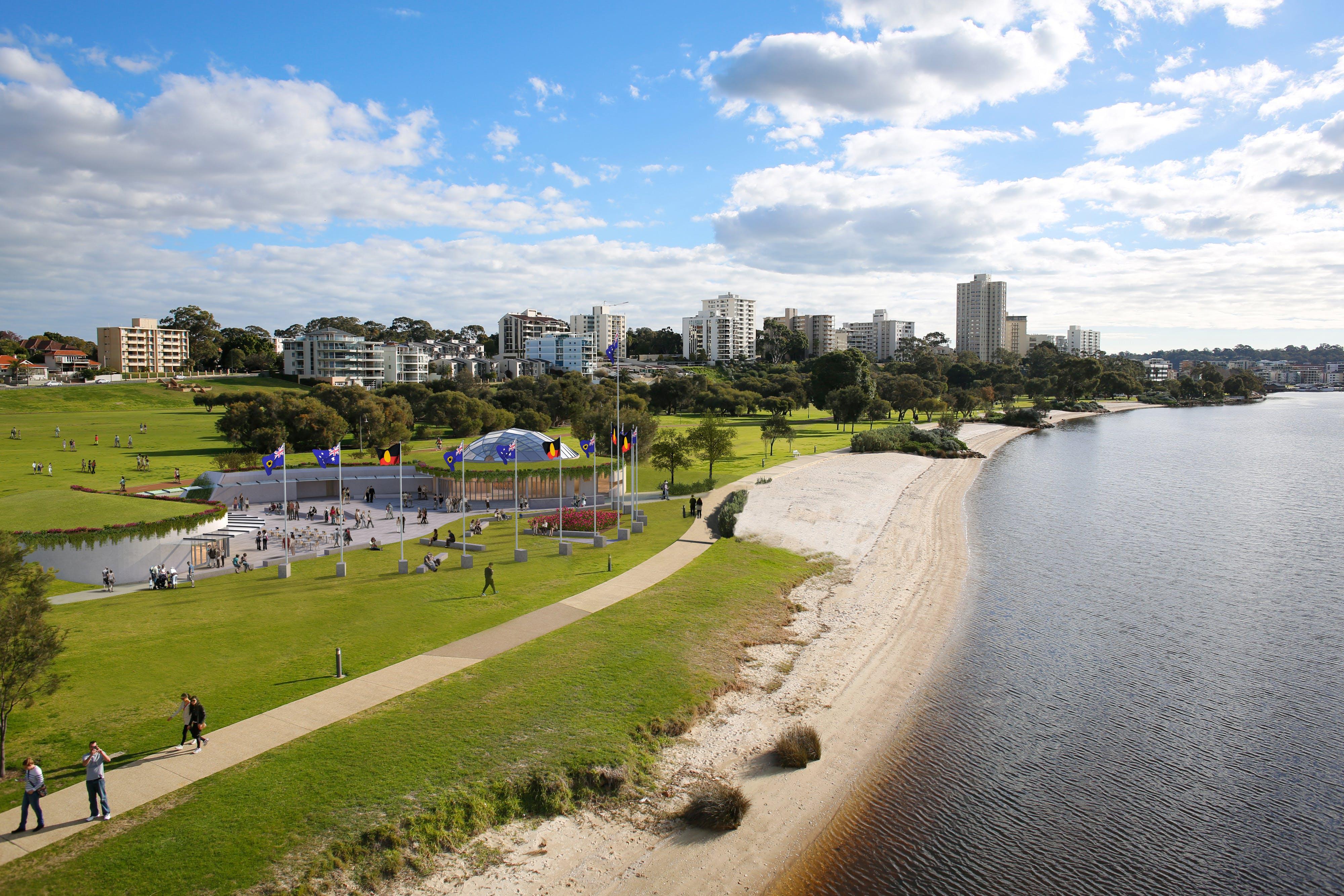 Westralian Centre concept design