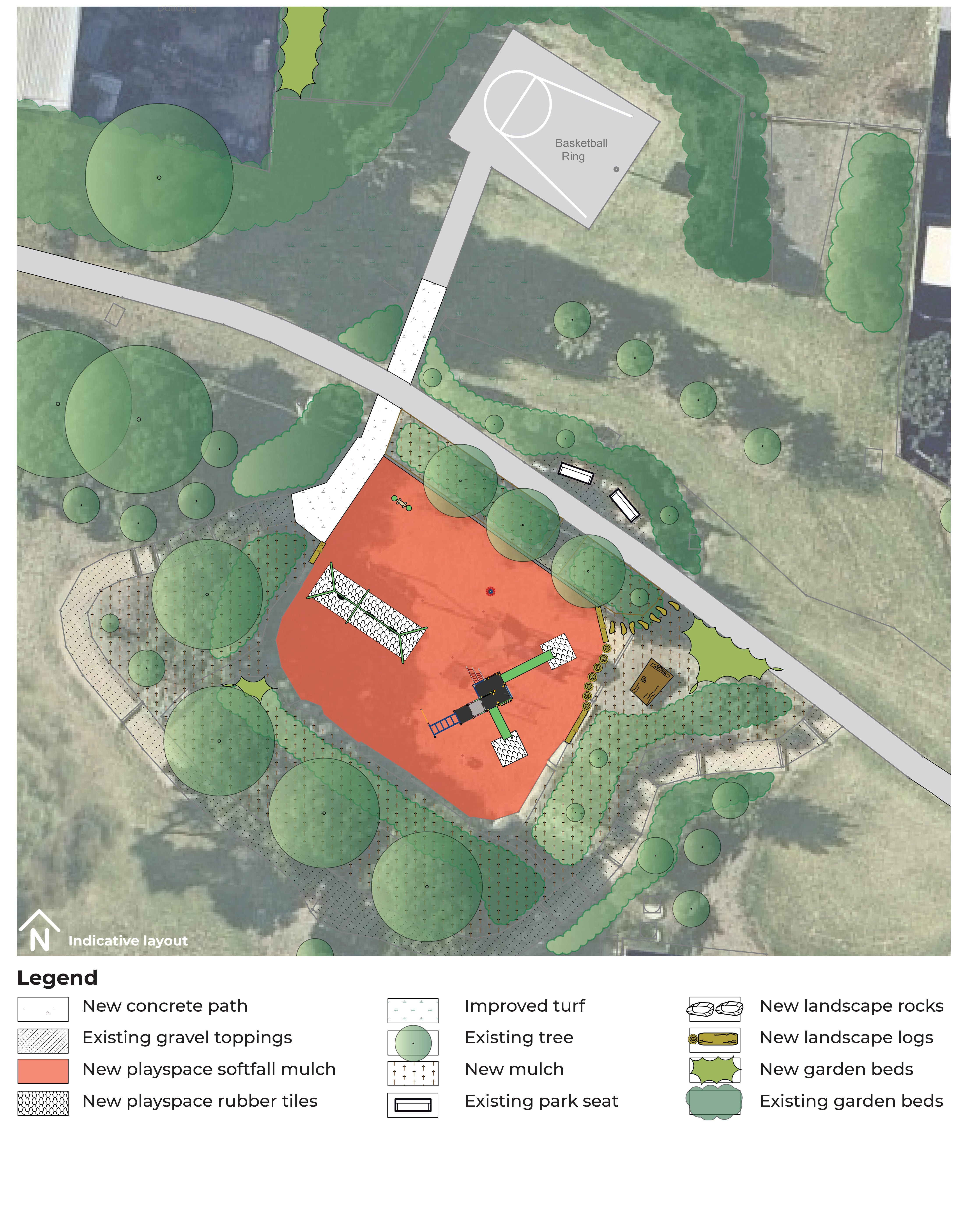William Canning Reserve - Play & Landscape Concept Plan