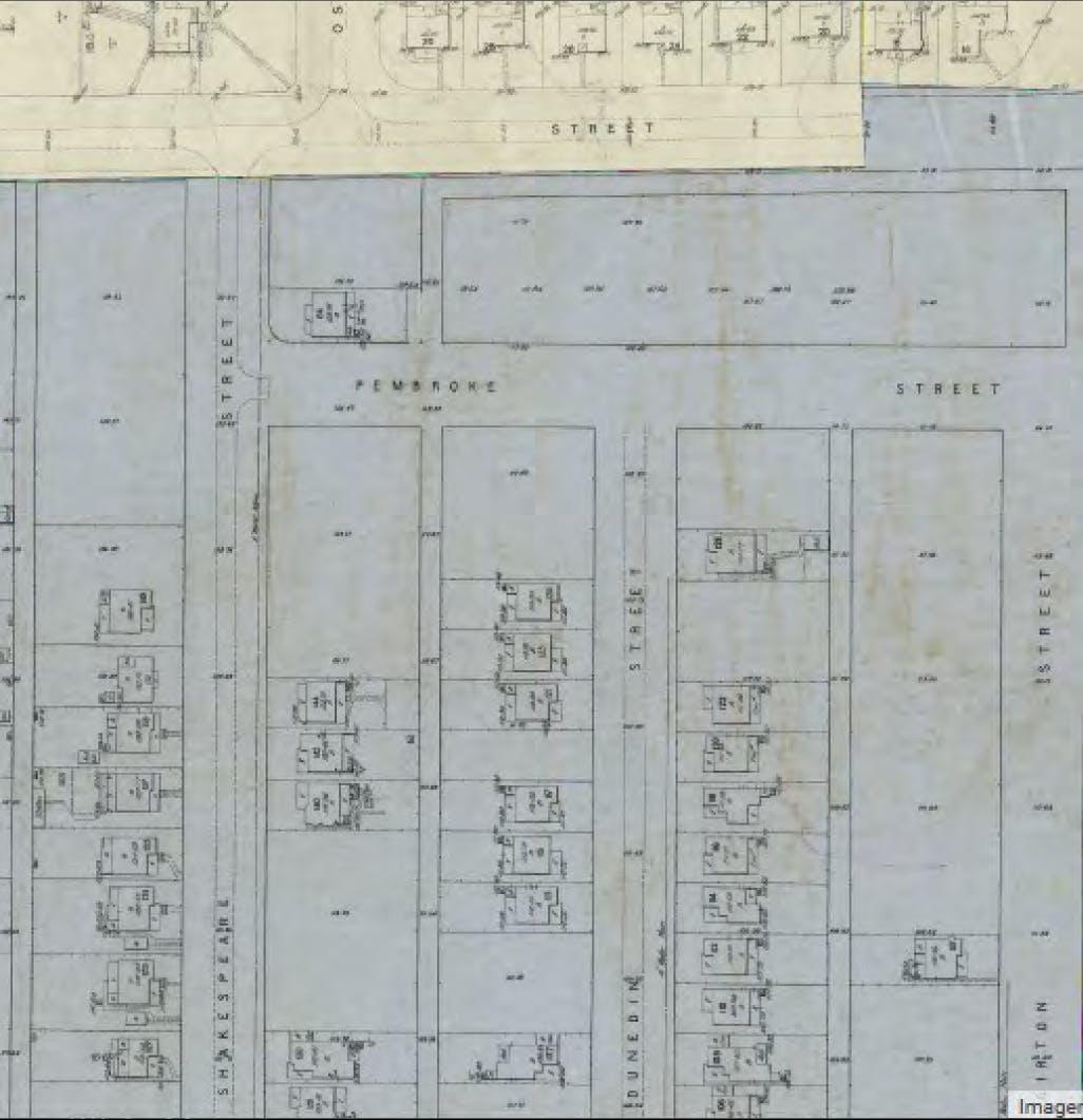 Pembroke Lane Historical Mapping 1
