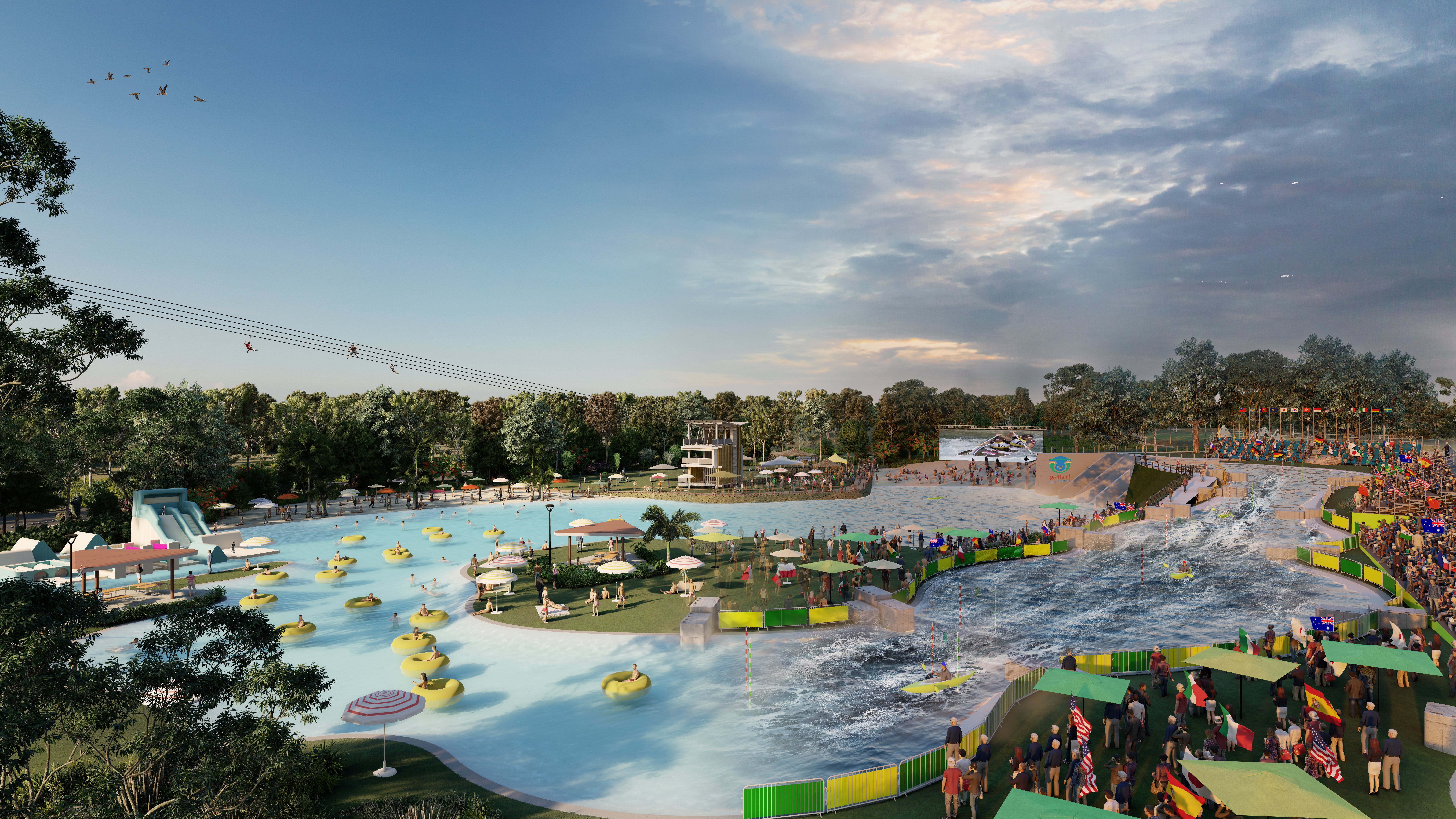 Whitewater / lazy river