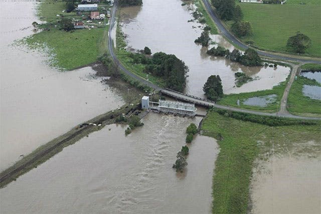 Belmore River Flood Control