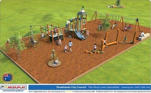 Playground St Georges Basin