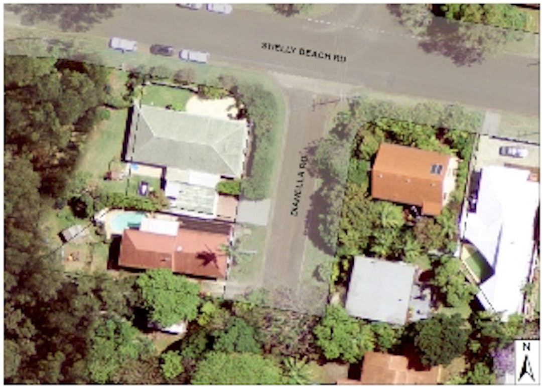 Aerial image of Dianella Road, Port Macquarie