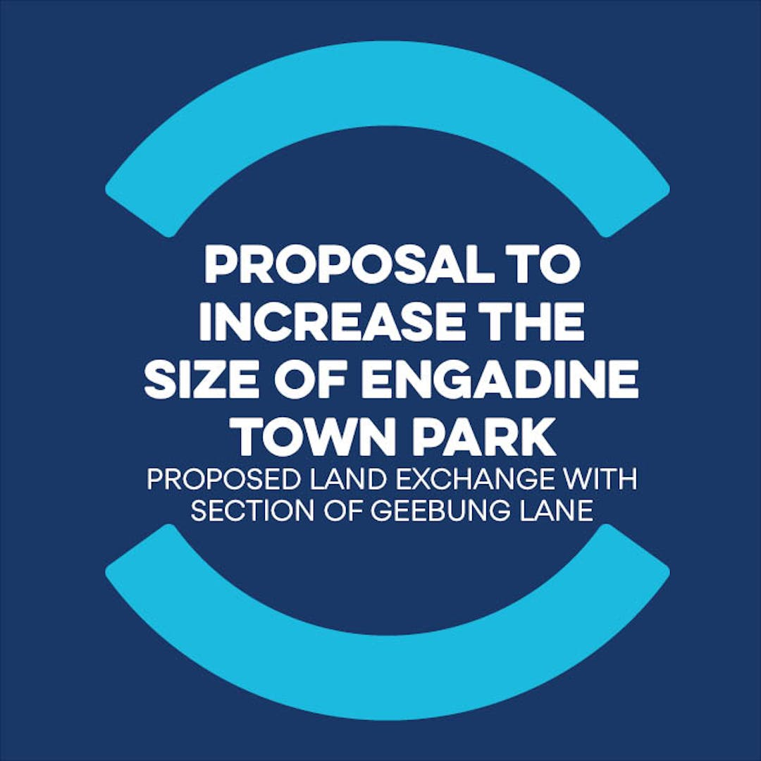 We are seeking your feedback on the proposed land exchange