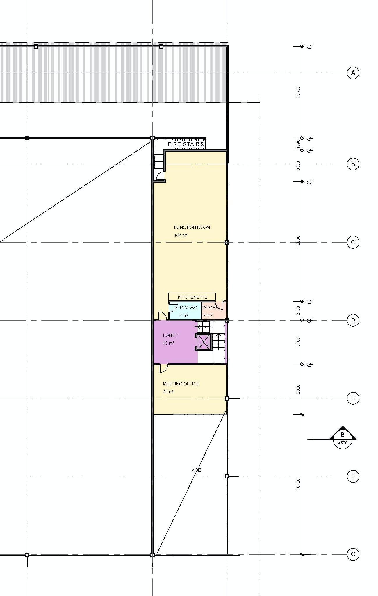 Marrara Netball Centre Drawings 05 Zoom A